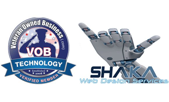 Shaka Web Design Services - Veteran Owned Small Business