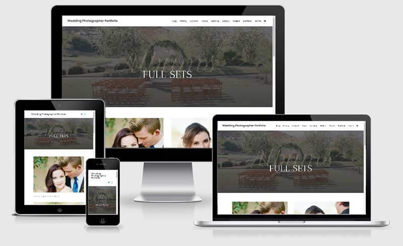 Portfolio website demo - Shaka Web Design Services