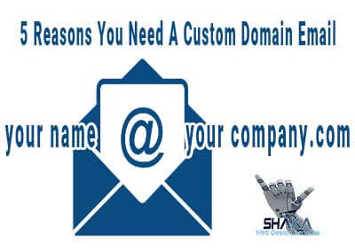You Need A Custom Email Address!